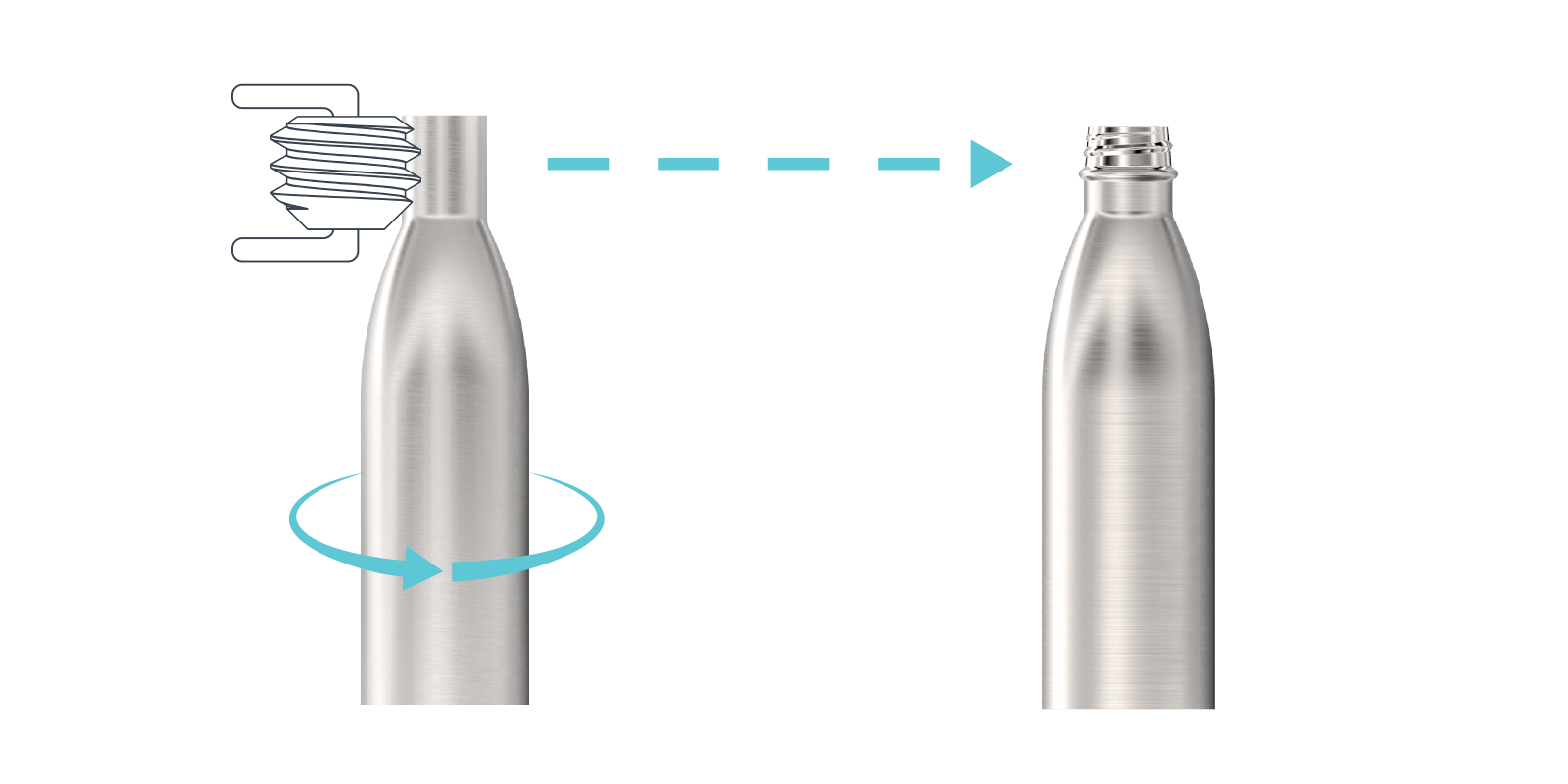 How we make our Metal Water Bottles - Step3