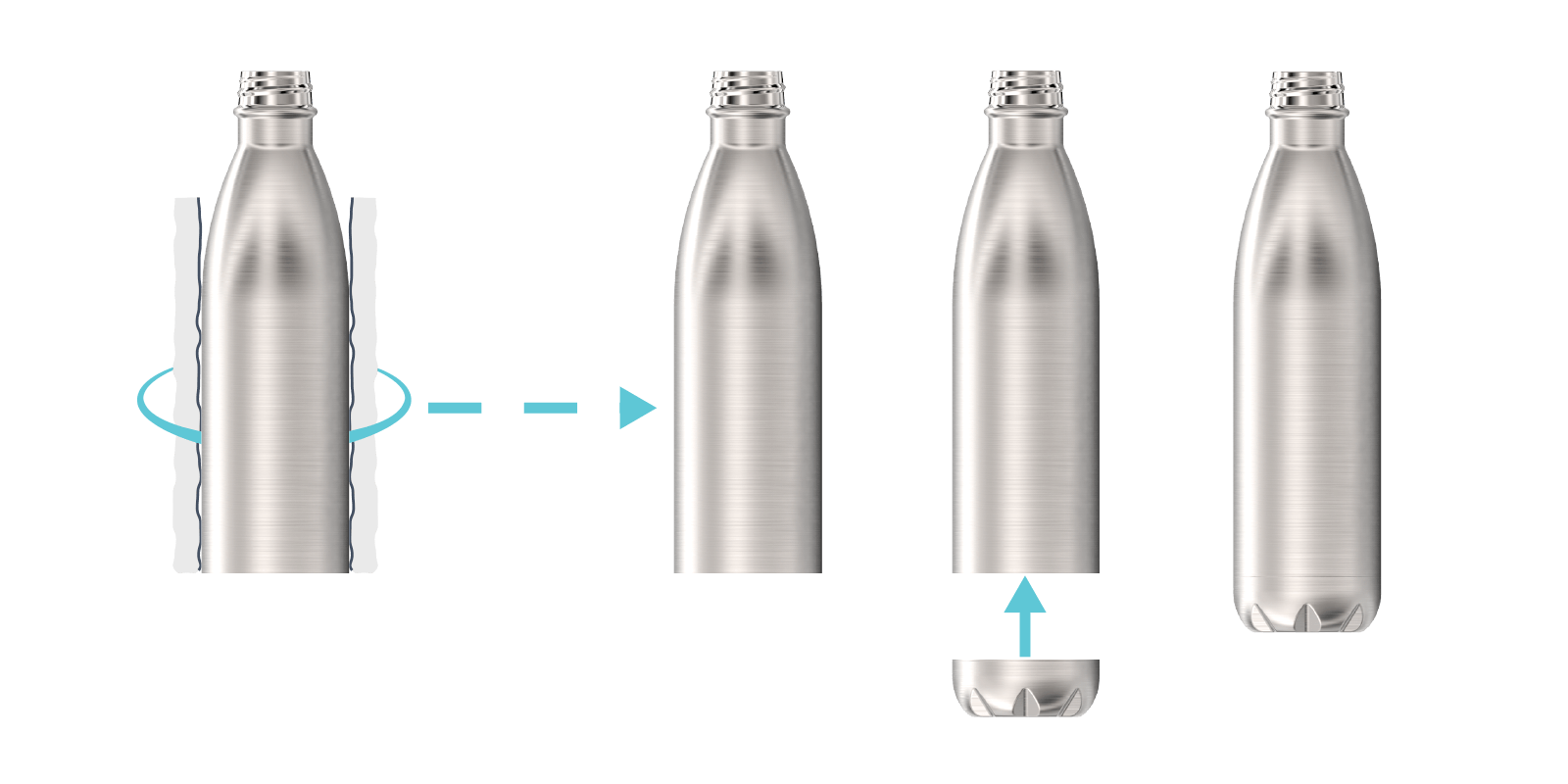 How we make our Metal Water Bottles - Step6